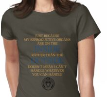 Just Because - Sam Carter Womens Fitted T-Shirt