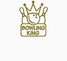 Bowling king crown Unisex T-Shirt