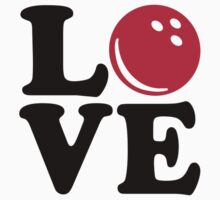 Bowling love by Designzz