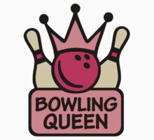 Bowling queen crown Kids Clothes