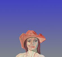 Red hat girl blue by precisionts