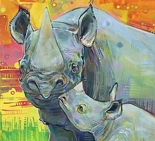 Rhinoceros by Gwenn Seemel