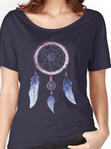 Dreamcatcher Watercolor Illustration Women's Relaxed Fit T-Shirt
