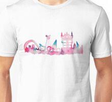 Orlando Movie Theme Park Inspired Skyline Silhouette Unisex T-Shirt