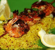Shrimp and Rice Dinner by Paulette1021