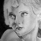 Portrait of Bette Davis by Anne Guimond