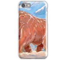 Realistic Mamoswine & Swinub iPhone Case/Skin