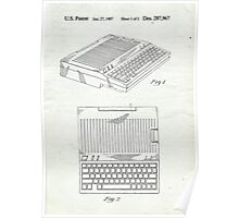 Original Patent for Apple IIe Personal Computer Poster