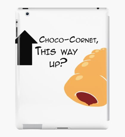 Miscellaneous - choco-cornet - light iPad Case/Skin