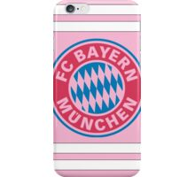Pink Bayern Munich iPhone Case/Skin