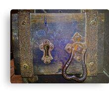 13th Century door lock Metal Print