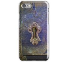 13th Century door lock iPhone Case/Skin