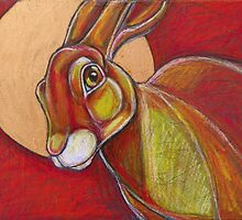 Tell the Moon (March Hare) by Lynnette Shelley