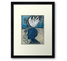 Lotus Mind Framed Print