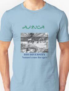 Biodiversity Zebra Black T-Shirt