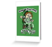 "Garbage Pale Kidz ""Puking Patty"" Greeting Card"