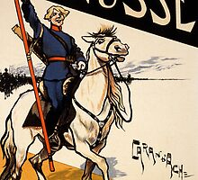 Poster for a Russian Exhibition in the Champs de Mars by Bridgeman Art Library
