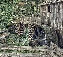 The Mill in The Cove by LarryB007
