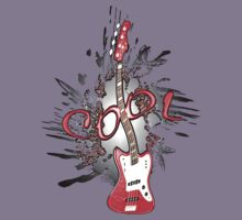 Cool Guitar Kids Clothes