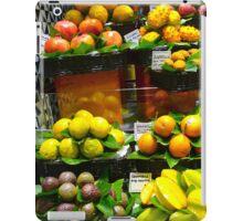 Feeling fruity! iPad Case/Skin
