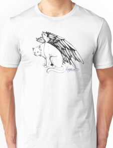 Winged Cat Unisex T-Shirt