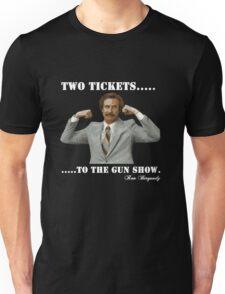 """Anchorman - Ron Bergundy """"Gun Show"""" Unisex T-Shirt"""