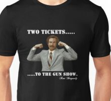 "Anchorman - Ron Bergundy ""Gun Show"" Unisex T-Shirt"