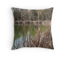 Indian Springs Golf Club Throw Pillow