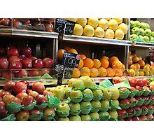 Fresh Produce Photographic Print