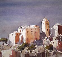 Mediterranean Landscape by Ammar Khammash