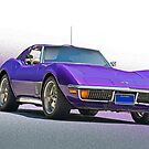 1970 Chevrolt Corvette C3 by DaveKoontz