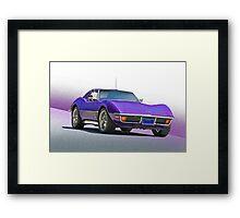 1970 Chevrolt Corvette C3 Framed Print