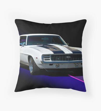 1968 Chevrolet Camaro SS Throw Pillow