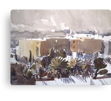 Middle Eastern Town Canvas Print