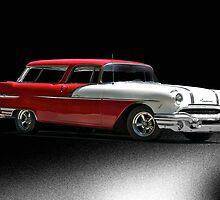 1956 Pontiac Laguna Station Wagon by DaveKoontz
