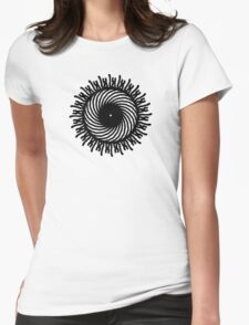 Symmetry Womens Fitted T-Shirt