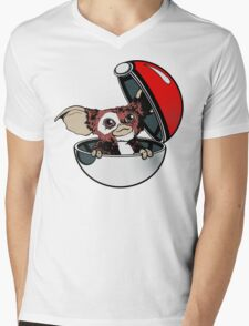Gizmon Mens V-Neck T-Shirt