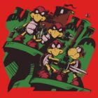 Teenage Koopa Ninja Brothers by rabzila