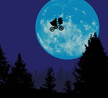 E.T. the Extra-Terrestrial  by Creative Spectator