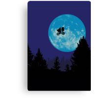 E.T. the Extra-Terrestrial  Canvas Print