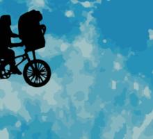 E.T. the Extra-Terrestrial  Sticker