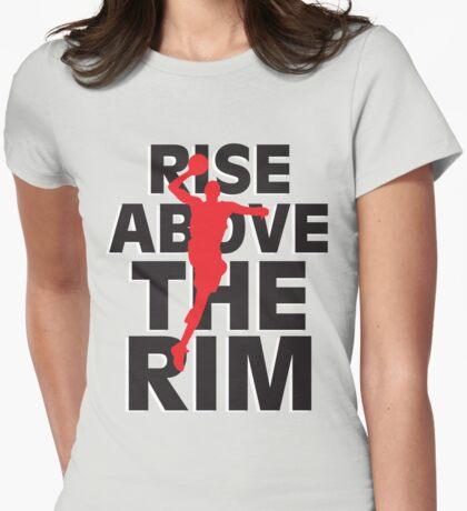 Baller Girl Womens Fitted T-Shirt
