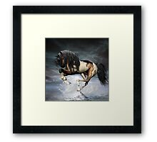 Dancing On Water Framed Print