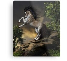 The Rearing Horse Metal Print