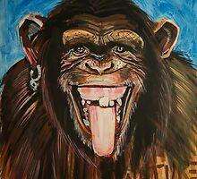 Monkey by Ernesto by ArtBattles