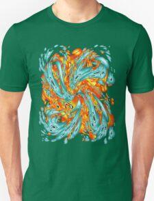 Splash Attack: Aqua and Fire T-Shirt