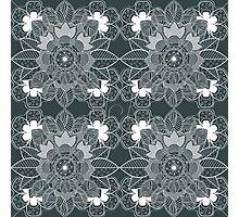 lace Decorative Floral Ornamental Pattern Photographic Print