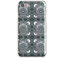 lace Decorative Floral Ornamental Pattern iPhone Case/Skin
