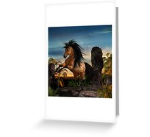 Sunset Dance Greeting Card