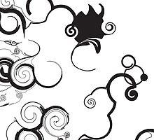 Funky Toon Swirls And Twirls by mydeas